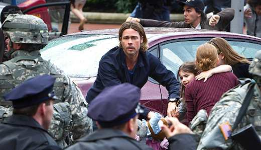 Brad Pitt and His Family Are the Only Ones We Should Care About in Zombie Crisis – Procrastinate on This [BOOK WEEK II]
