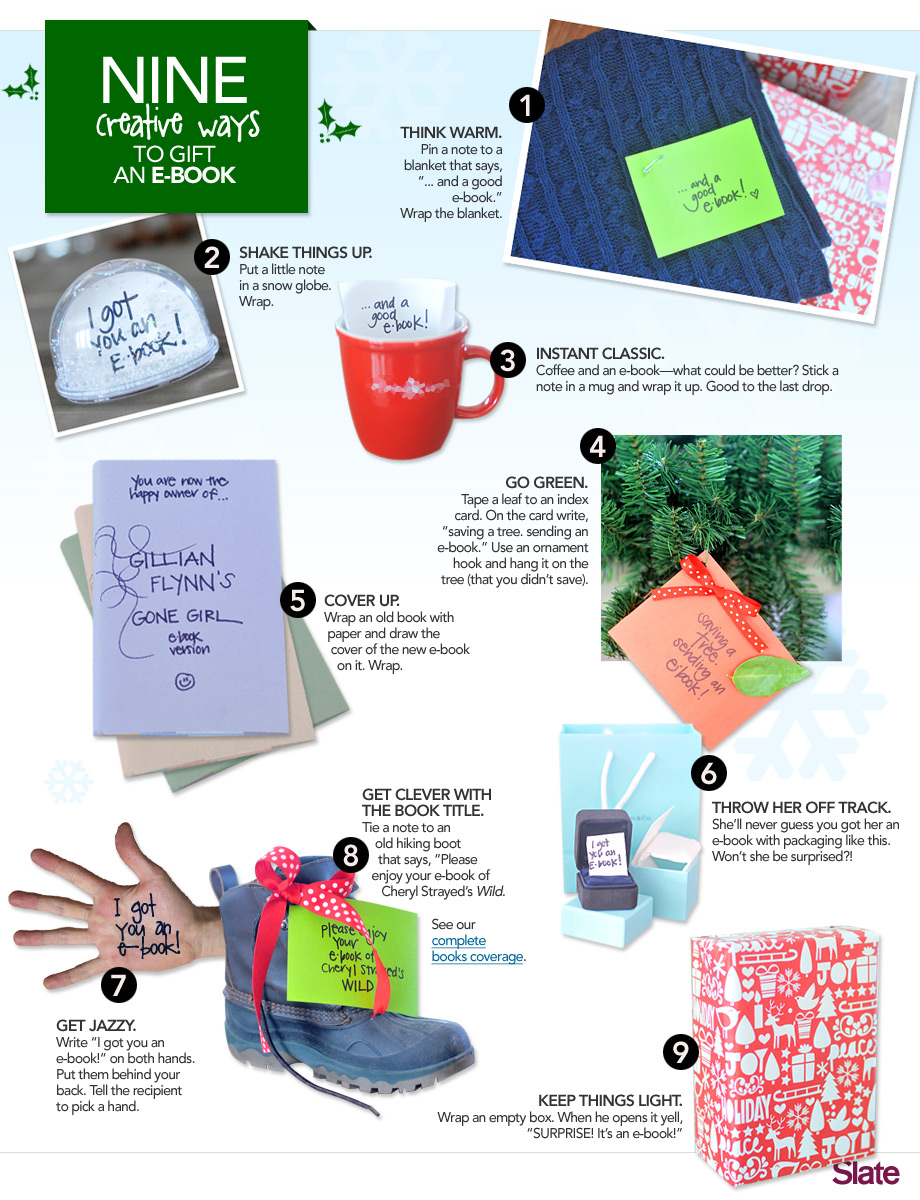 Clever Ways to Gift an eBook – One More Thing Before We Go [Nerdy Holiday Gifts 2012]