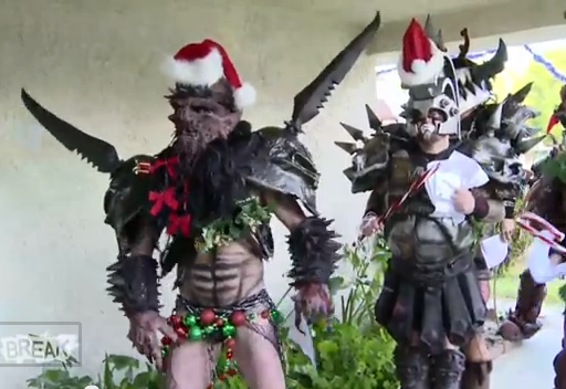 It's Raining Christmas! A Drag Queen, Menorah and Gwar Christmas Spectacular! [A Tall Glass of Shame]