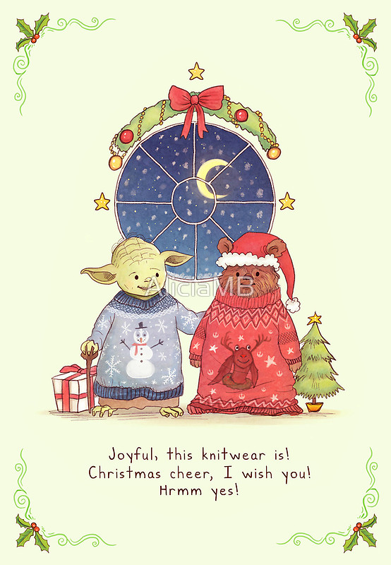 Geeky Christmas Cards &#8211; One More Thing Before We Go [Nerdy Holidays 2012]