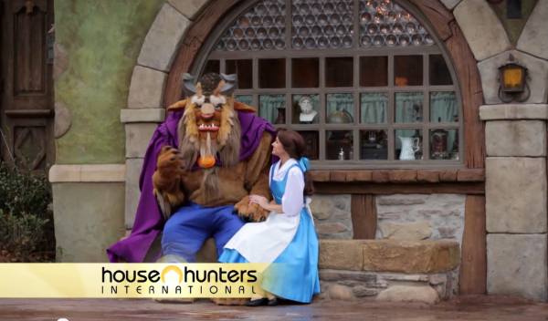 Beauty and the Beast on House Hunters International [Procrastinate on This]
