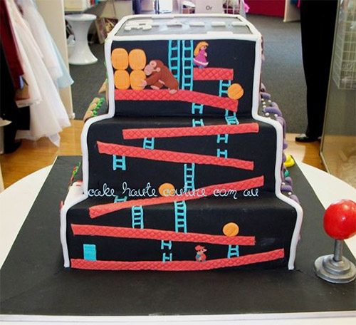 Retro Video Game Cake [One More Thing Before We Go]