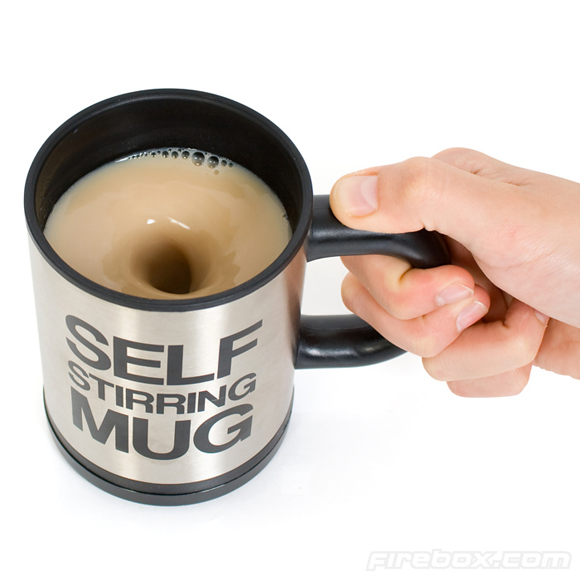 Self-Stirring Mug [One More Thing Before We Go]