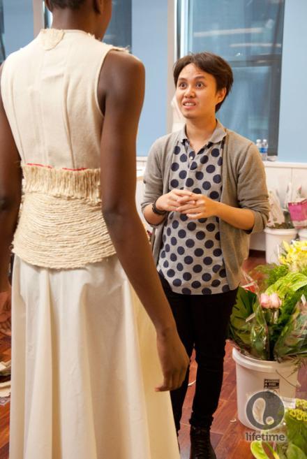 Project Runway Season 11: Episode 4 – Prickly Floral Cosby Sweater Dresses [Runway Rundown]