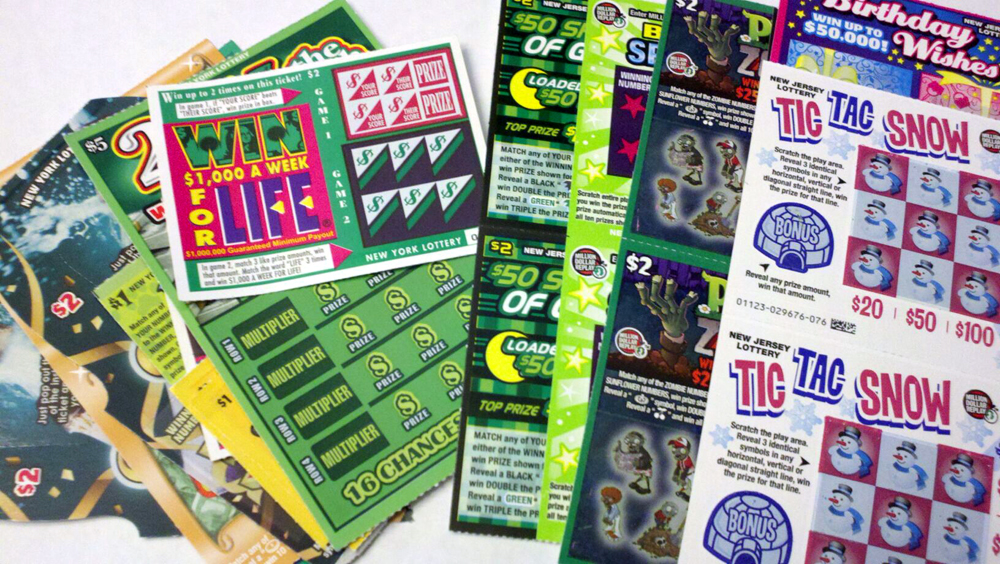 The Two State Challenge: Can You Win with Scratch Off Lottery Tickets? [Kicking Back with Jersey Joe]