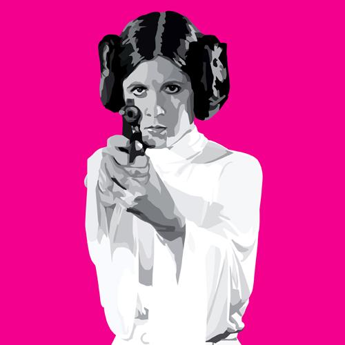 Princess Leia's Business Card [Fierce Women Month]