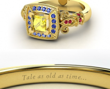 Disney Princess Rings [One More Thing Before We Go]