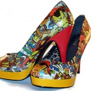 Comic Book Shoes [Nerdy Ish We Found on Etsy]