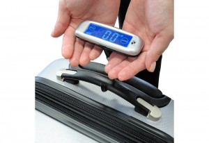 Travel luggage scale sharper image