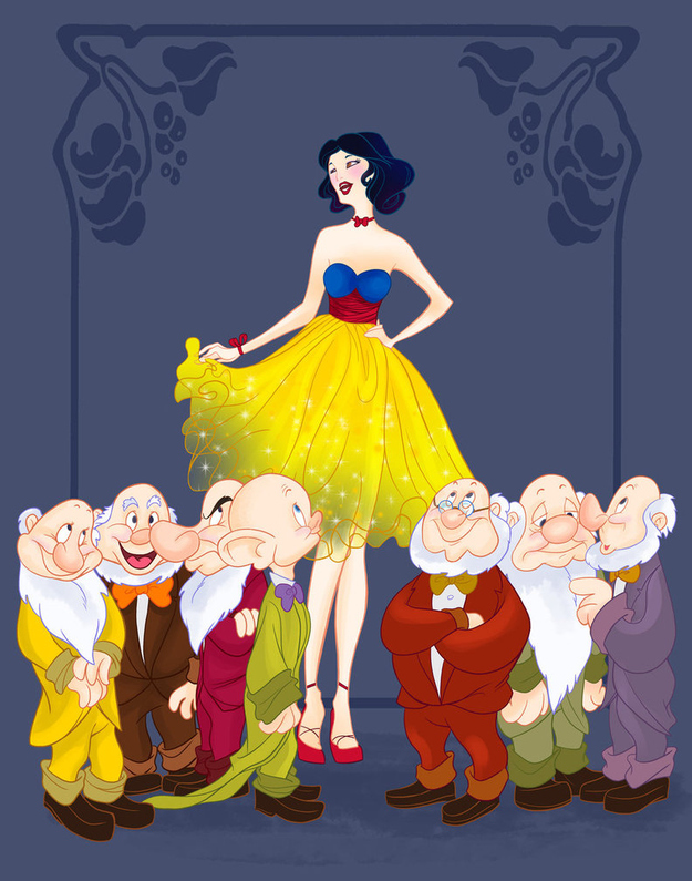 disney-prom-snow-white