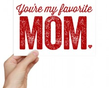 Nerdy Mother's Day Card [Nerdy Ish We Found on Etsy]