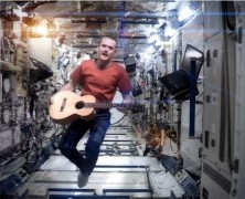 Space Oddity Covered Oddly In Space