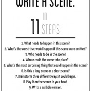 How to Write a Scene [One More Thing Before We Go]
