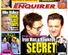 The Avengers Get Photoshopped into Current Magazines! [One More Thing Before We Go]