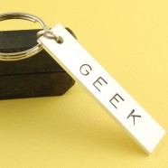 Geek Keychain [Nerdy Ish We Found on Etsy]